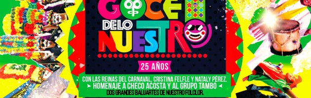 La reina del Carnaval 2015, Cristina Felfle, despide el año en La Troja