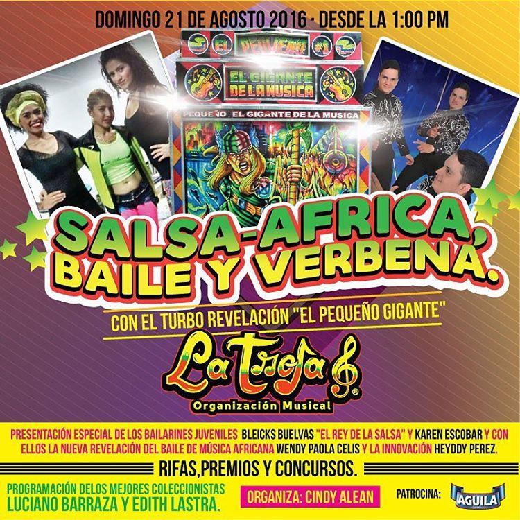 Hoy en la Troja8 ! Salsa Africa y Verbena !!!hellip