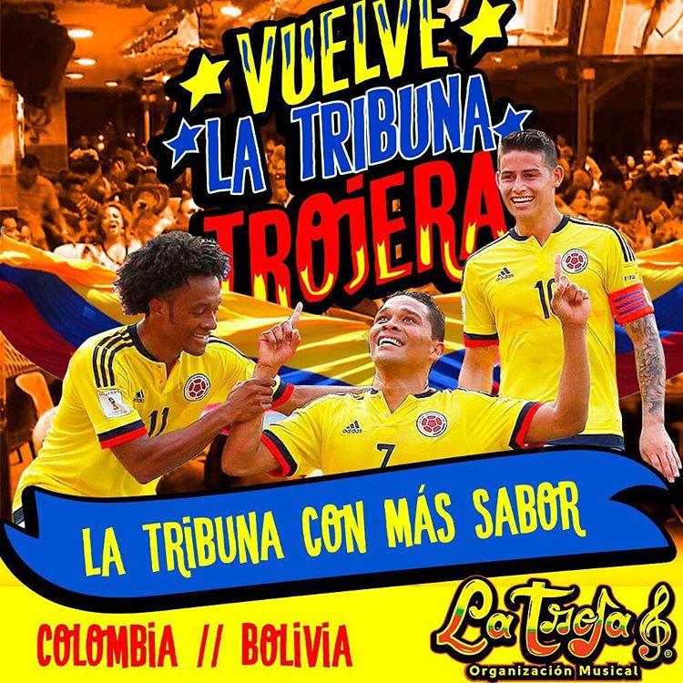 Vuelve la tribuna Trojera ! Hoy es Jueves de Futbolhellip