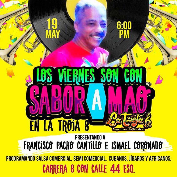 Los viernes son con SaborAMao en la Troja8 !!! Loshellip