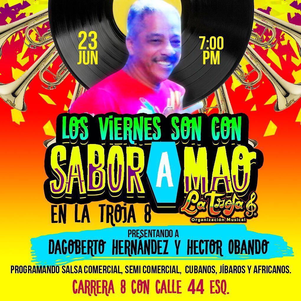 Maana es Viernes con SaborAMao en la Troja8  Nohellip