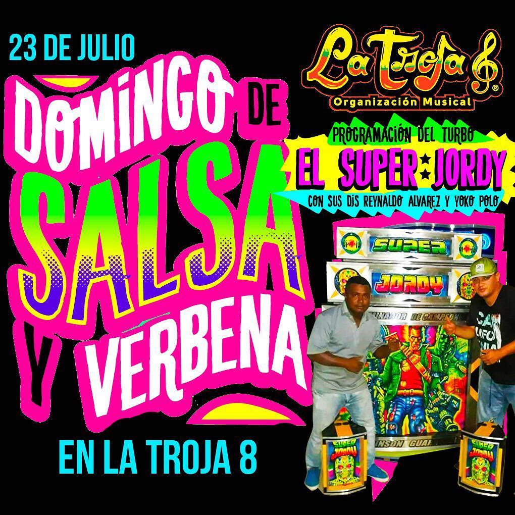 Hoy es Domingo de Salsa y Verbena en la Troja8hellip