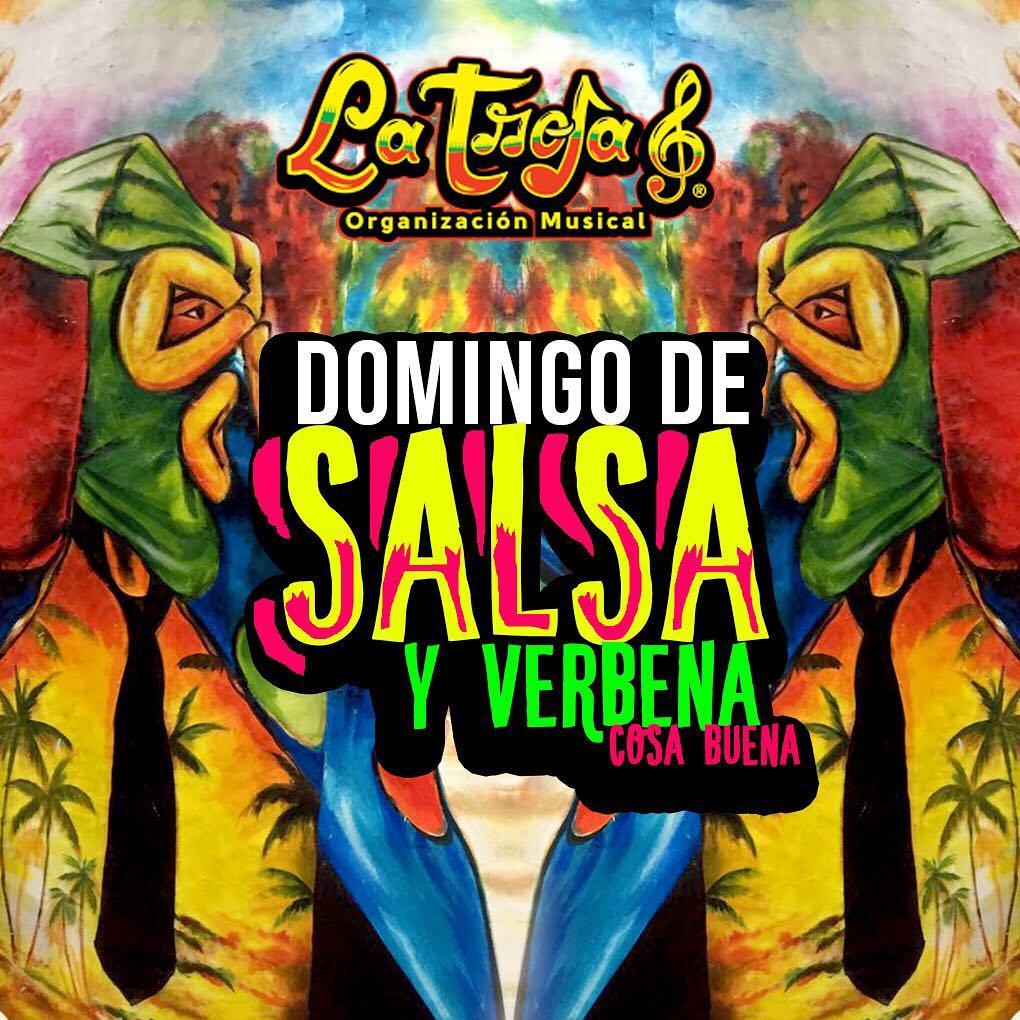 Hoy es Domingo de Salsa y Verbena  Los Esperamoshellip