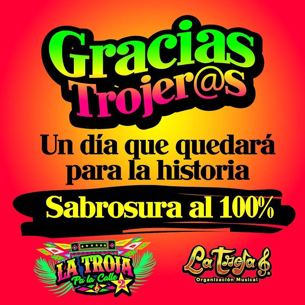 Barranquilla! Gracias Trojers  un da que quedar para lahellip