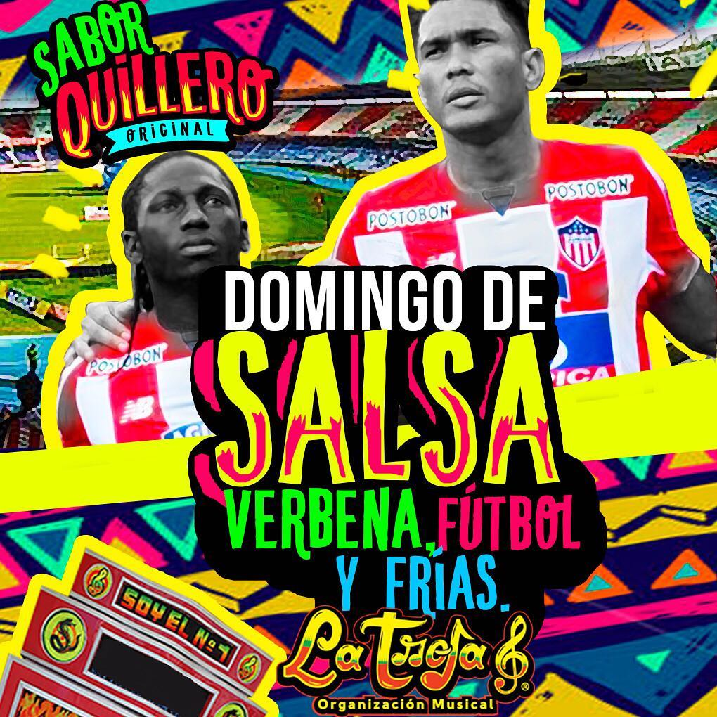 Hoy es Domingo de Salsa y Verbena  Futbol yhellip