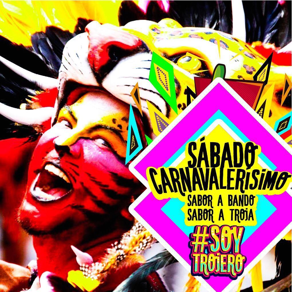 Hoy es Sabado Carnavalersimo con sabor a Bando  Conhellip