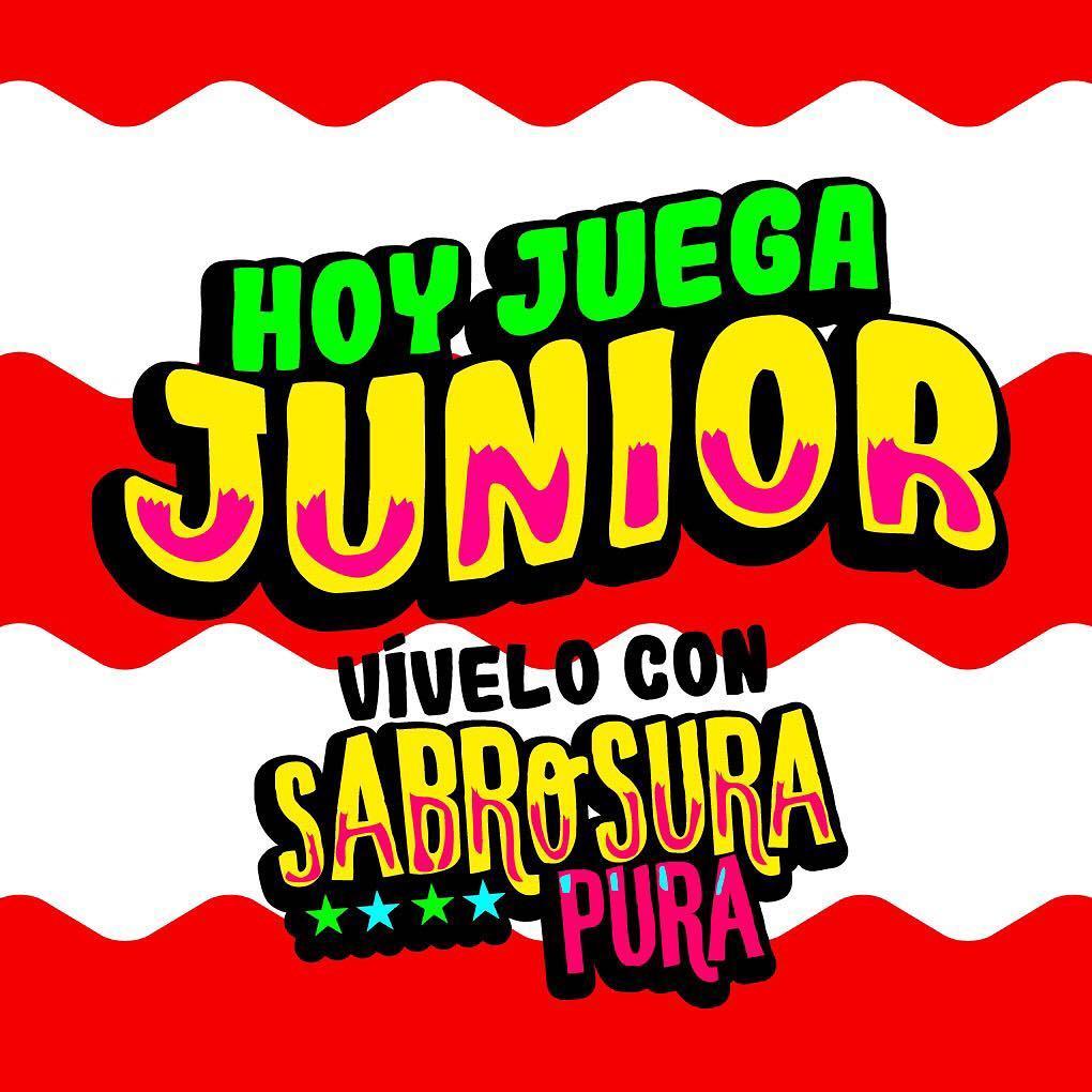 Hoy juega Junior  vvelo con Sabrosura en las 3EsquinasDelSaborhellip