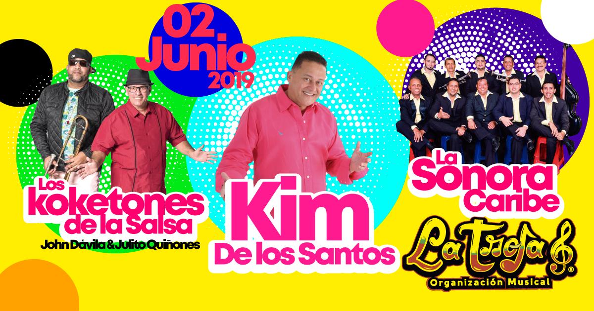 Concierto Kim de los Santos