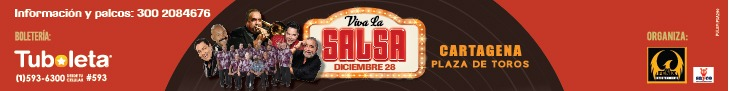 Este sábado 28 de diciembre en la Plaza de Toros de Cartagena.