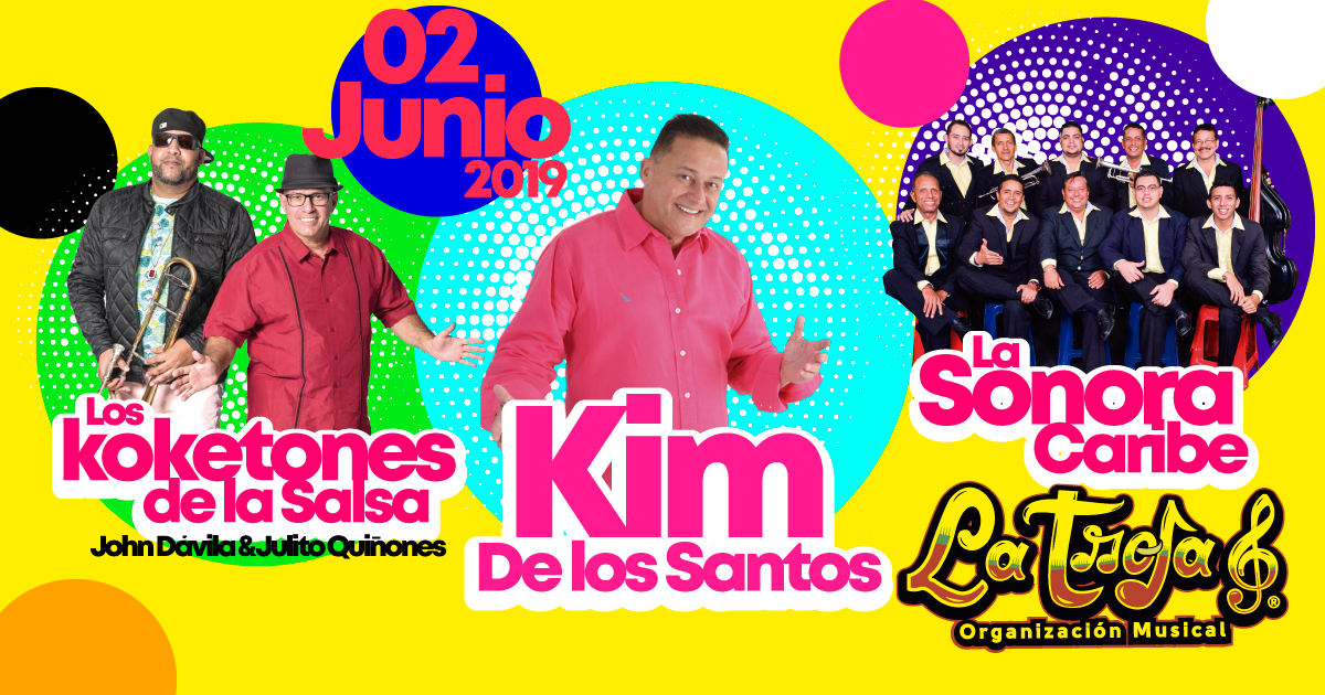 Kim de los Santos en Concierto!!!